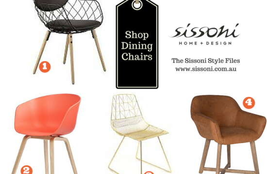 Sissoni Style Files – Dining Chairs