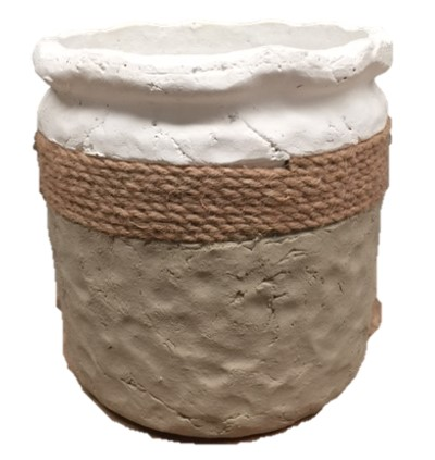 Handcrafted-concrete-pot