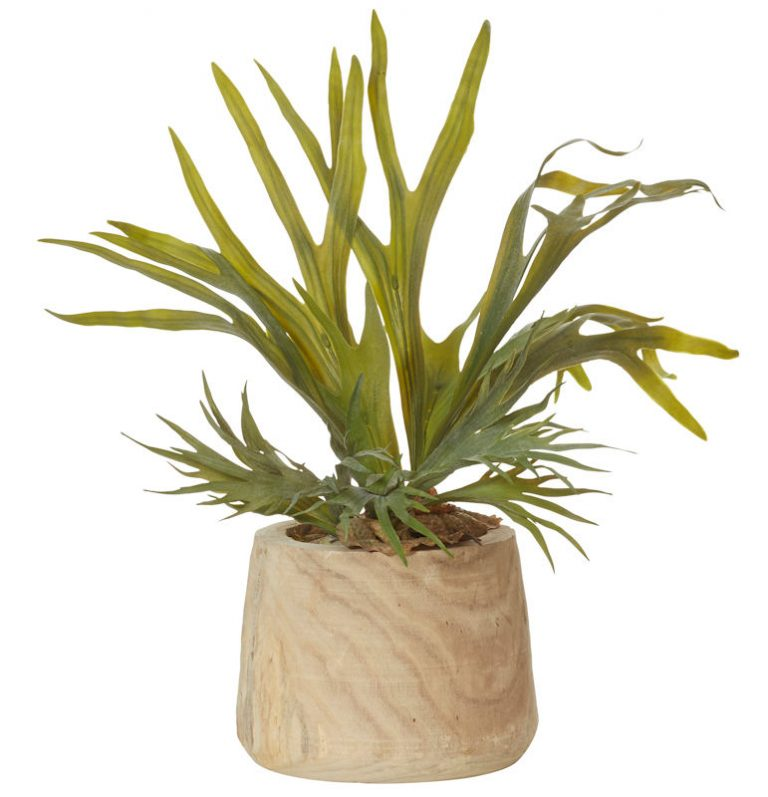 timber-pot-artificial-plant