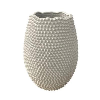ceramic vase textured surface